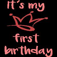 It´s my first birthday