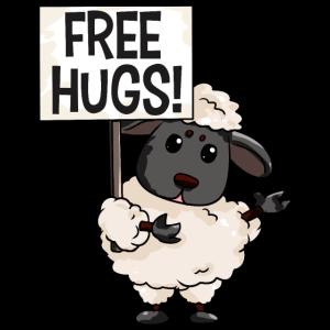 Schaf Kostenlose Umarmungen