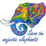 Save the majestic elephants - Elefantenschutz