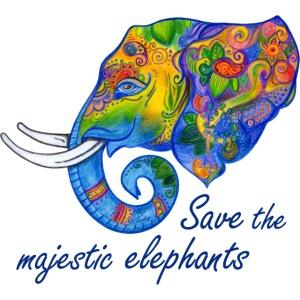 Save the majestic elephants