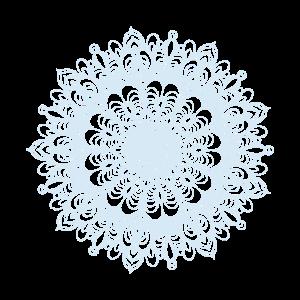 Mandala Zeichnung Kreis Spirale Blumen Line Art