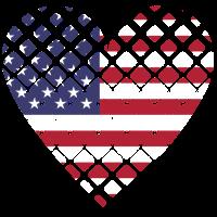 Herz Amerika USA