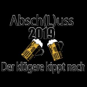 Schulabsch(L)uss - Der Klügere kippt nach .. :)