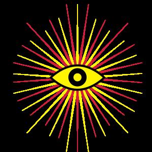 66 Auge Strahlen