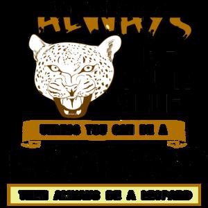 Leopard Raubkatze Safari Katze Wildnis Geschenk