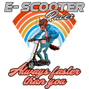 Escooter Electricscooter Wolf
