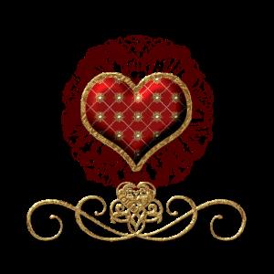Wunderbares dekoratives Herz