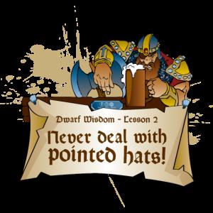 RPG Rollenspiel LARP Dungeons Zwerg Weisheit 2