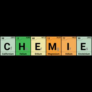 Chemie Elemente bunt
