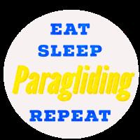 Eat Sleep Paragliding Repeat