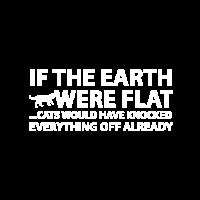 Wenn die Erde flach wäre ...