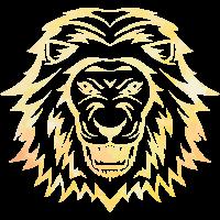 goldener Löwe Animalis Sahara