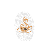 push to unlock coffee drücken um aktivieren Kaffee