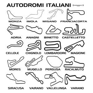 piste italiane nero