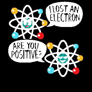 I Lost An Electron Physik Atom Physik Wissenschaft