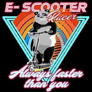 Escooter Electricscooter Panda Bär