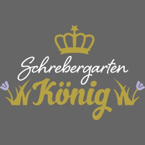 Schrebergarten König Garten Hobby Hobbygärtner