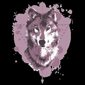 WOLF - GEOMETRIE - PINK