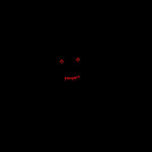 Horror Face Joker Clown