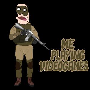 Videogame Egoshooter Noob