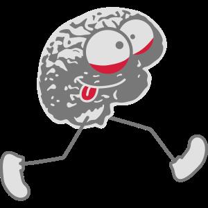 Crazy Running Brain