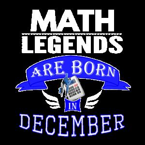 Wissenschaftslegenden werden im Dezember geboren