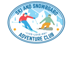 Retro Style Ski and Snowboard Adventure Club