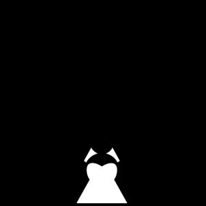 Braut 2019 mit Brautkleid
