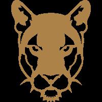 schwarzer Panther wildes Tier 306