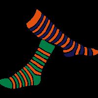 Doppel Socke Socke 1