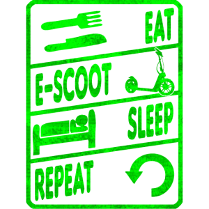 Escooter Electricscooter Repeat