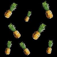 Ananas Muster Design Bild Grafik Frucht Sticker