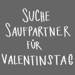Zuckergusche Valentinstag Single Spruch Lustig Geschenk Frauen T