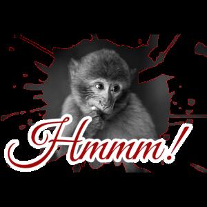 Affe Tier Aeffchen Geschenk Witzig