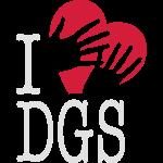 I love DGS (mit Hand)