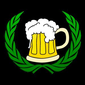 Trinkershirt Trinkshirt Bierkrug