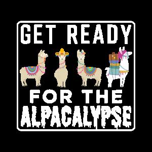 Get Ready For The Alpacalypse | Llama Alpaca Lover