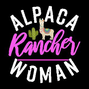 Alpaca Rancher Woman | Llama Lover Fan