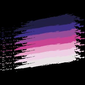 Violett Strich