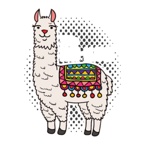 No Prob-Llama Llama Motiv No Drama Apaka