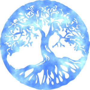 tree of life sky blue cloud