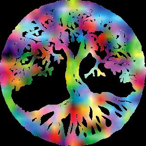 Lebensbaum bunt