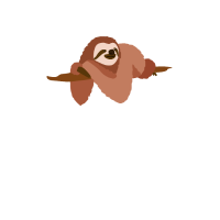 AUFTRAGS CHILLER Faultier Design lustiges Geschenk