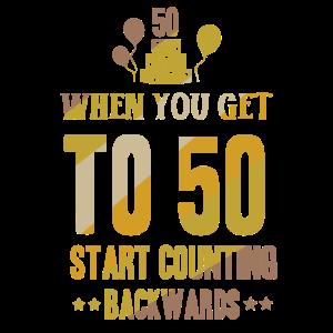 50 fünfzig Geburtstag - Shirt