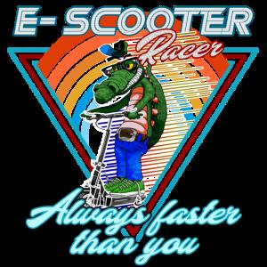 Escooter Racer Electricscooter Krokodil