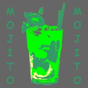 Mojito bicchiere colorato