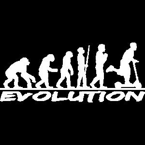 Evolution Tretroller Kickboard Geschenk