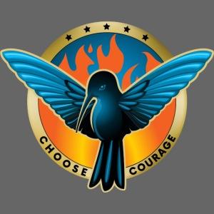 Choose Courage as Fireblue Rebels