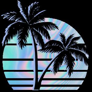 Palme-Hologramm