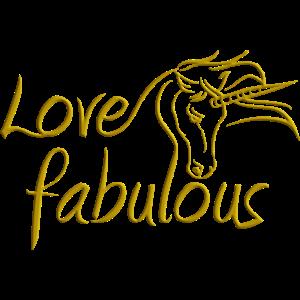 Liebe fabelhaft - Einhorn